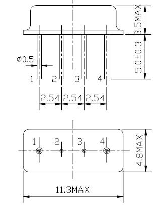 声表面谐振器,f11-433m,滤波器