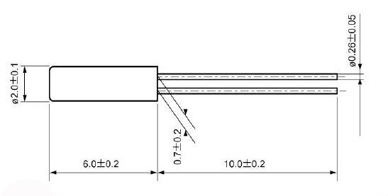 150k晶振,圆柱石英谐振器,石英晶振