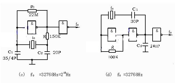 石英晶振的参数与电路
