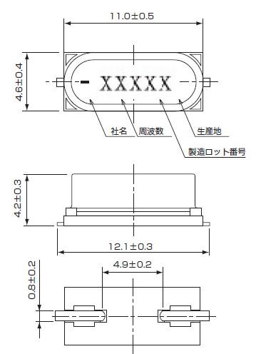 12mhz石英晶振,kds晶振供应商,进口smd-49s晶振
