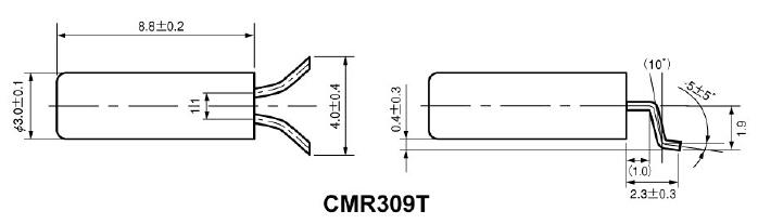 cmr309t石英晶振,进口西铁城晶振,citizen无源晶体