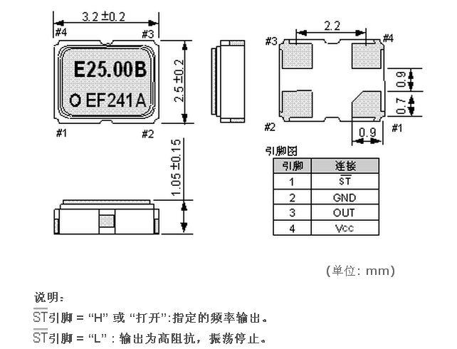 有源晶振,爱普生晶振,sg-310晶振,贴片晶振